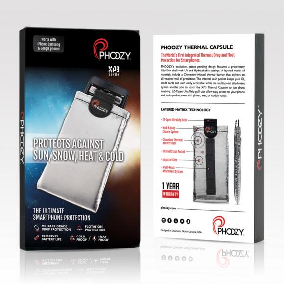 Phoozy XP3 Iridium Silver