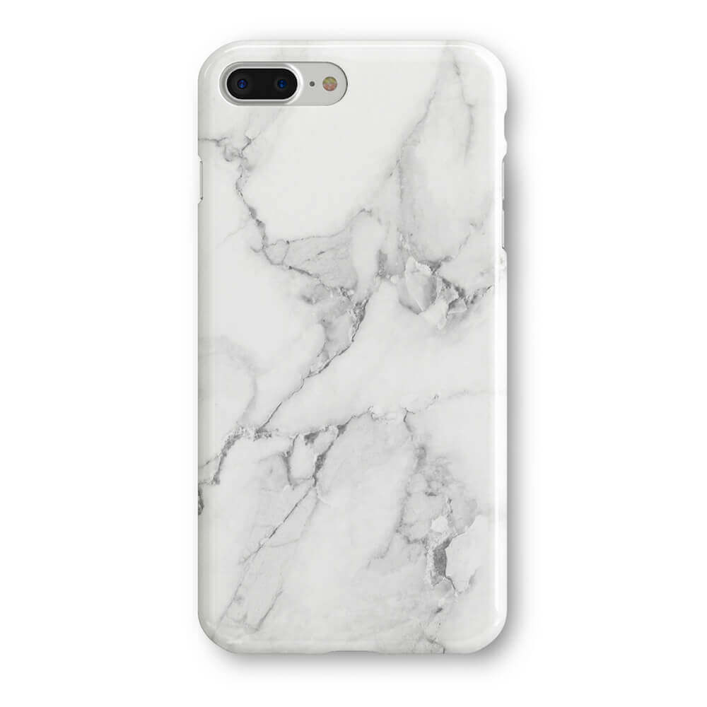 the latest 3a599 c20f7 Recover White Marble iPhone 8 Plus - REC017
